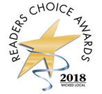 Winner of the 2018 Readers Choice Awards!